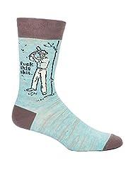 Blue Q Socks, Men's Crew, F--k This Shit
