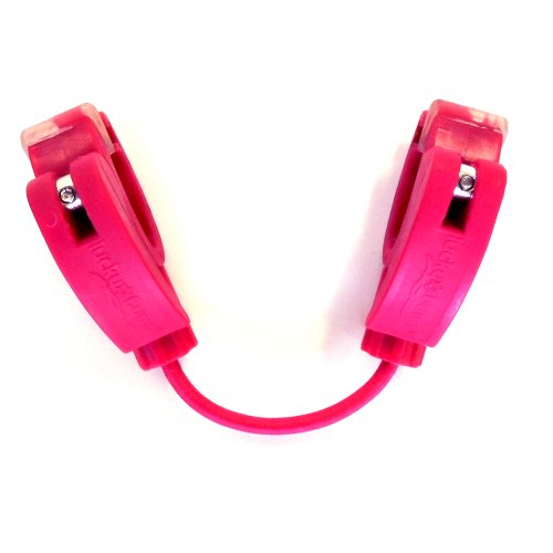 Girls Fall Line (Lucky Bums Fall Line Easy Wedge Ski Tip Connector, Pink)