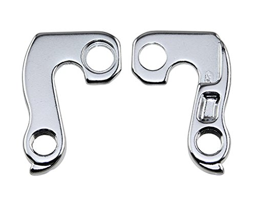Lowrider ALLOY BICYCLE REAR DERAILLEUR HANGERS BIKE DERAILLEUR HANGERS 012 SILVER. bike part, bicycle part, bike accessory, bicycle accessory by Lowrider