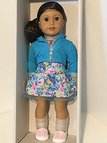 American Girl - 2017 Truly Me Doll: Light Skin, Freckles, Dark Brown Hair, Hazel Eyes - Light Skin Doll