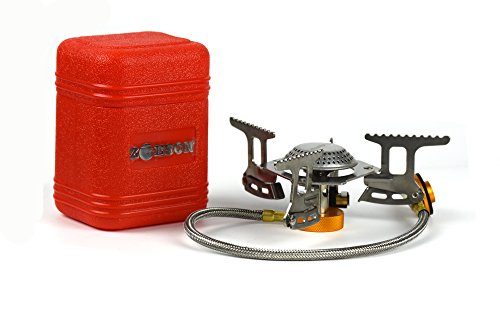 Outdoors Mini Camping Stove,backpacking stove,backpack stove, Ultralight Collapsible Stove Backpacking with Piezo Ignition