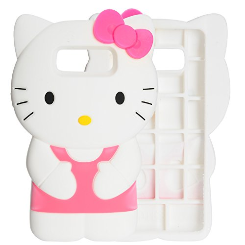 Note 8 Case, Phenix-Color 3D Cute Cartoon Soft Silicone Hello Kitty Gel Back Cover Case for Samsung Galaxy Note 8 (2017) Case Amp Prime (#51)