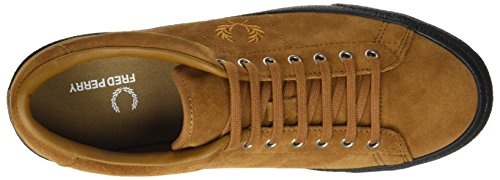Fred Perry Underspin Suede Ginger Black B2130434, Basket