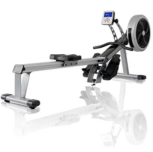 JTX Freedom Air Rower: Foldable Superior Rowing...