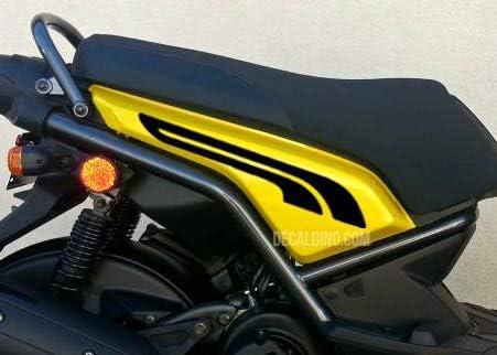 Decaldino Racing Graphic Kit for Yamaha Zuma 125 Azure Blue