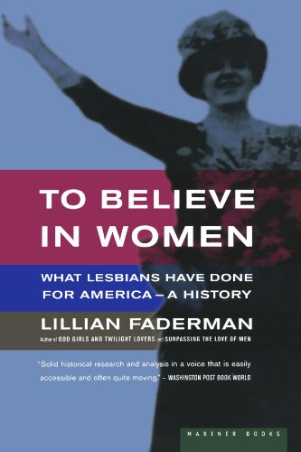 a literary analysis of the odd girls and twilight lovers by faderman Literary, or cultural context  other authors have covered similar topics but with different emphases in odd girls and twilight lovers:  , lillian faderman,.