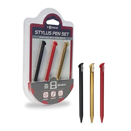Tomee Stylus Pen Set for New 3DS XL (3-Pack) ()