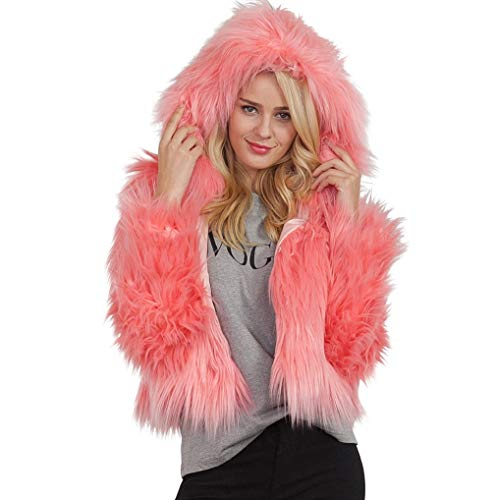 Solid Red Winter Pink Coat Warm Gray Orange Short Outerwear Watermelon Black Parka Fur Hooded Ladies Red Beige Luxury Jacket Khaki Green White Faux Wine TUDUZ Womens x8qvBv