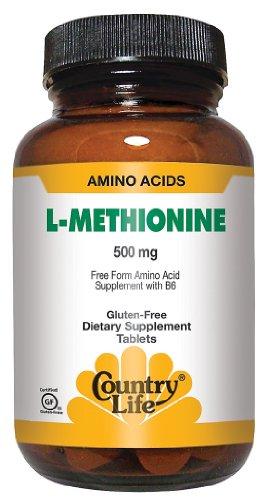 Country Life - L-Méthionine, 500
