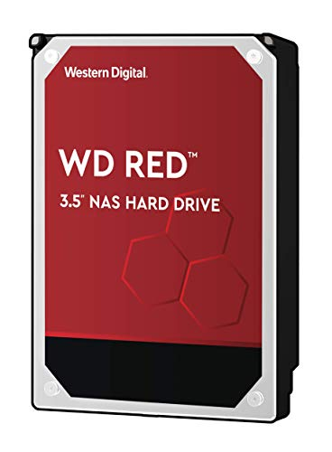 WD Red 8TB NAS Internal Hard Drive - 5400 RPM Class, SATA 6 Gb/s, 256 MB Cache, 3.5