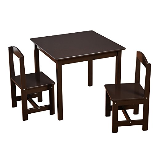 Hayden Kids 3-Piece Table and Chair Set, Multiple Colors Esp