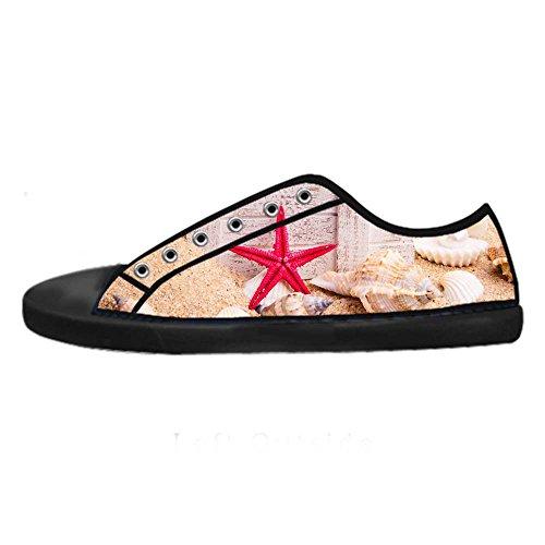 Dalliy Strand-Seestern Mens Canvas shoes Schuhe Lace-up High-top Sneakers Segeltuchschuhe Leinwand-Schuh-Turnschuhe E