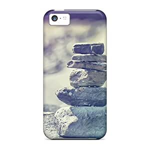 Forever Collectibles Superimposed Stone Hard Snap-on Iphone 5c Case