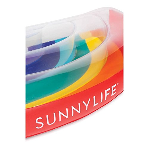 SunnyLife Luxury Inflatable Pool Lie Down Float Beach Toy for Adults