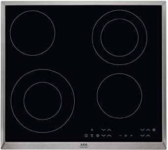 Aeg Hk634021xb Touch Control Electric Ceramic Hob Amazon