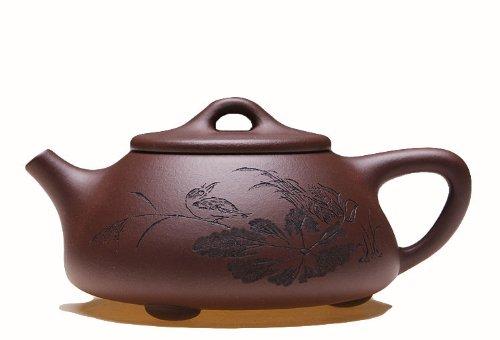 1pc Chinese Yixing Handmade High-quality Zisha Teapot 20 Years Old Zi Ni Shi Piao Hu 200cc