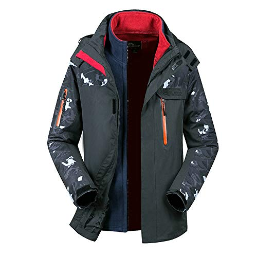 Men's Winter Two Piece Set Camouflage Waterproof Windproof Outdoor Sport Coat for $<!--$56.96-->