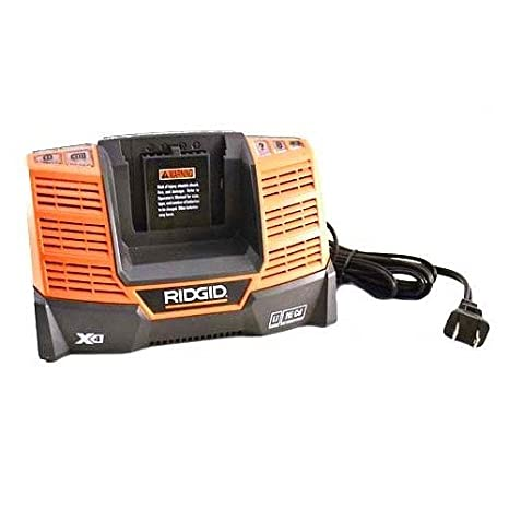 Ridgid 140154020 - Cargador multiquímico (9,6 V, 18 V ...