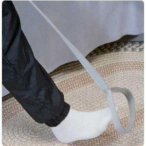 Blue Rigid Leg Lifter - 40''L Leg Lifter with Foot Grip (pkg. of 5)