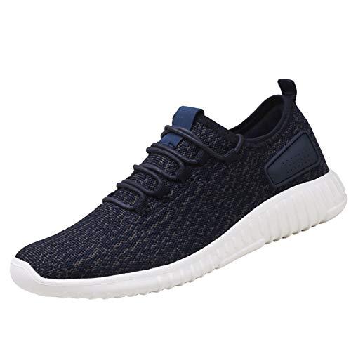 Sport Per On Blue Adulti Casual Sneakers Scarpe Running Allenatori Uomini Fashion Athletic Slip WUSnHcXwq