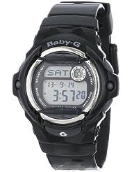 Casio Womens Baby-G Black Whale Digital Sport Watch
