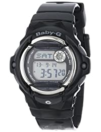 Casio BG169R-1 Women's Baby-G Black Whale Digital Sport Watch