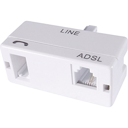 Super fast ADSL2+BT Micro filter for Broadband WIFI Telephone Router Modem...
