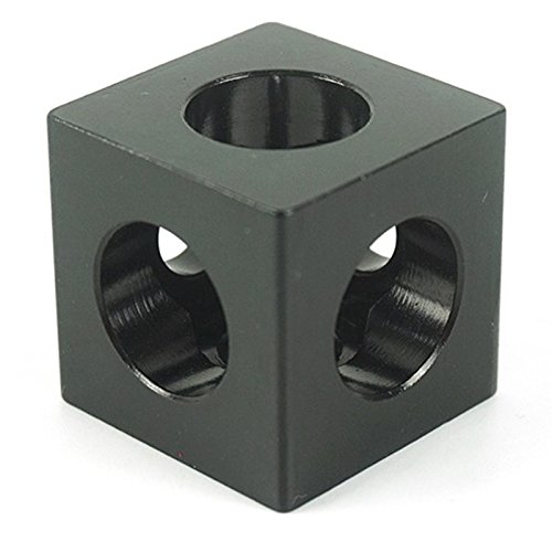 TOOGOO 3D Printer Parts 10pcs/lot Openbuilds V-slot three Corner Cube Corner Prism Connector Adjustable Wheel Bracket