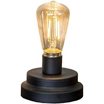 6 Quot Tall Decorative Light Bulb On Metal Base Desk Table