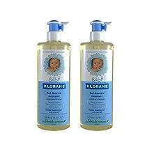 Klorane Baby Gentle Foaming Gel Hair And Body Pack 2x500ml