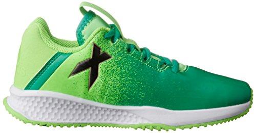 Adidas rapidaturf x K–Bottes de fútbolpara enfants, vert–(Versol/negbas/verbas), 31