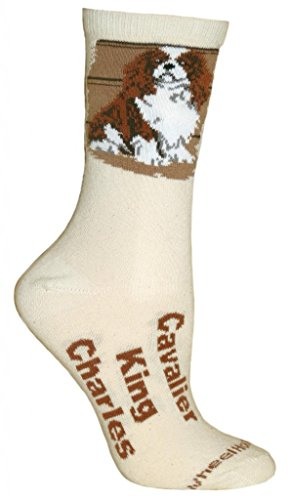 Cavalier King Charles Natural Color Cotton Ladies (King Charles Ornament)