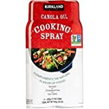 Kirkland Signature Canola Oil Cooking Spray, Non Gmo ,34 Ounce (Pack Of 3)