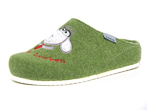 Tofee grün Green Slippers G Grün Women Longo 1012977 AqrXwA1K