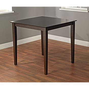 Amazon Com Counter Height Dining Table Contemporary