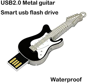 Civetman 8GB Negro Guitarra Eléctrica Pendrive Musical Instruments Crystal USB Flash Drive Memory Stick: Amazon.es: Electrónica