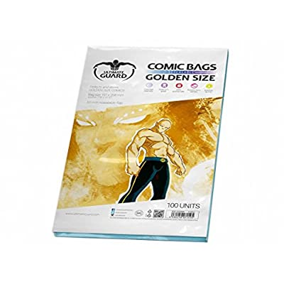 Ultimate Guard Resealable Golden Comic Bags: Toys & Games