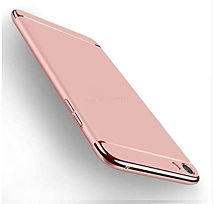 wholesale dealer 57825 c5568 Oppo F3 Plus Back Cover 3IN1 Chrome Back Case Cover for: Amazon.in ...