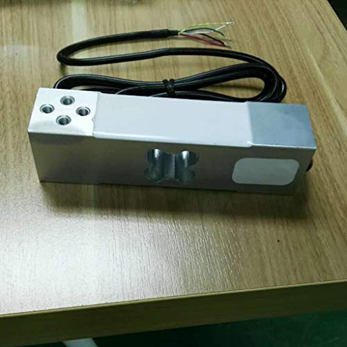nouler Juler 2Pcs 100Kg / 250Kg Balanza electrónica Digital Aleación de Aluminio Pesaje del Sensor Pesaje del Sensor...