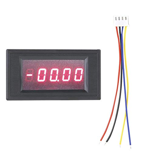 (LED Voltmeter Digital DC8-18V DC200V, Isolated Half Seal Four Half Voltmeter, Good Stability, High Measurement Accuracy, Anti-Interference, Height 0.4
