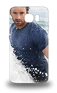 Galaxy 3D PC Case Cover Protector Specially Made For Galaxy S6 Hugh Jackman Australia Male Hugh Michael Jackma X-Men ( Custom Picture iPhone 6, iPhone 6 PLUS, iPhone 5, iPhone 5S, iPhone 5C, iPhone 4, iPhone 4S,Galaxy S6,Galaxy S5,Galaxy S4,Galaxy S3,Note 3,iPad Mini-Mini 2,iPad Air )