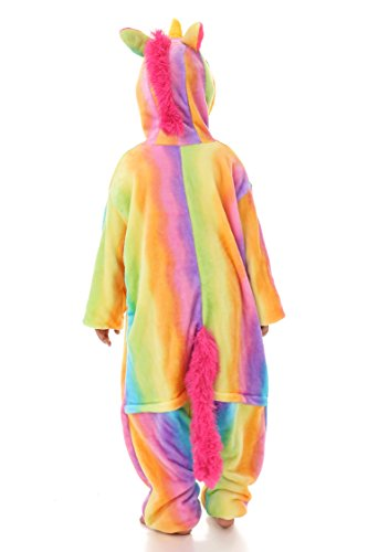 Yutown Kids Unicorn Costume Animal Onesie Pajamas Children Halloween Gift