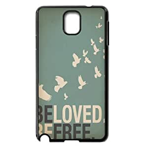 Be Free Brand New Cover Case for Samsung Galaxy Note 3 N9000,diy case cover ygtg580219