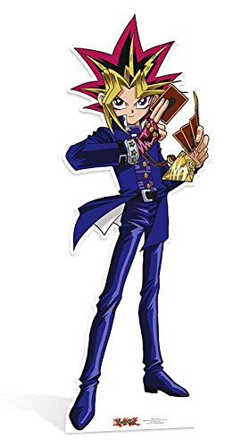 Star découpes Yami Yugi avec Cape Duelist Kingdom YU- GI – Oh. Cut Out, Multicolore STAR CUTOUTS LTD SC820