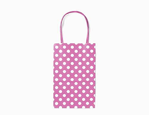 Coloured Paper Gift Bags With Handles - 5