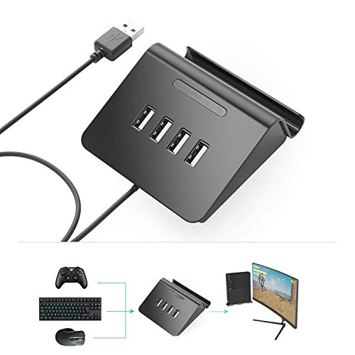 Keyboard and Mouse Converter Adapter Controller for PS4 Xbox One Playing PUBG Game, Call of Duty Black Ops 4, Fortnite Game ()