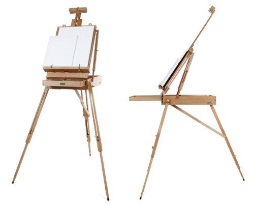 Artina caballete maletín Madrid | madera de haya | conjunto de pintura XXL
