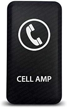 CH4X4 Rocker Switch Bed Lights Symbol Red Led