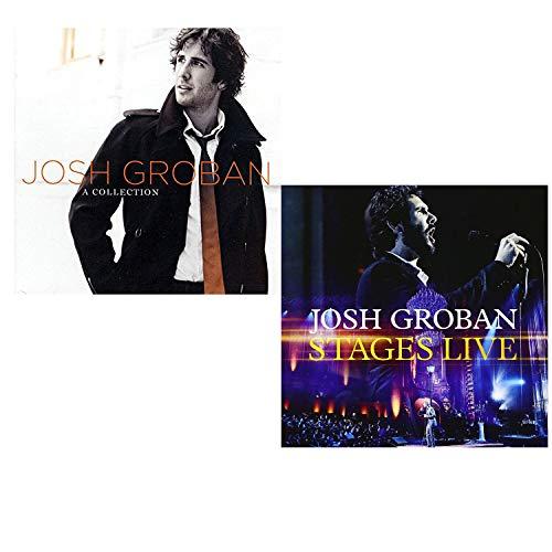 Collection (Best Of) - Stages (CD + DVD) - Josh Groban Greatest Hits 2 CD Album Bundling