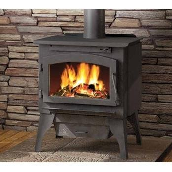 Timberwolf 2100 Economizer Epa Wood Burning Stove With Leg Kit by Napoleon